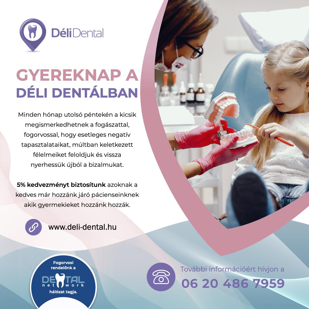 Déli Dental Gyereknap